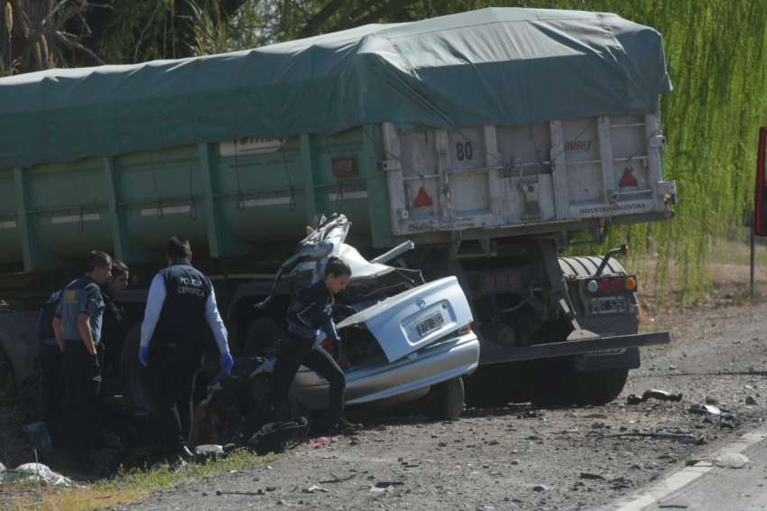 Los cinco mendocinos que murieron en un  accidente regresaban de un boliche sanjuanino -